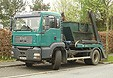 MAN TG 410 A M Schuttcontainer-Lkw