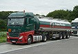 Mercedes Actros Mod. 2012 1845 Stream Space Tanksattelzug