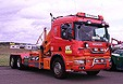 Scania 114G Container-Abrollkipper-Lkw